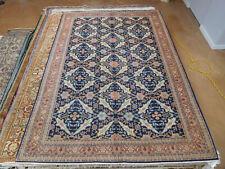 Handmade Turkish rug Hereke Wool Carpet 7 x 10 sotf colors excellent condition