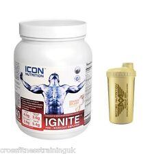 Icona di alimentazione si accendono Pre-Workout Sports CARBURANTE formula 720g ARANCIONE Splash + Shaker