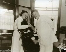 Vintage One Arm Dentist Laurium Michigan  Dentistry With One Arm 1940 MUST SEE