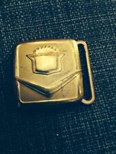 Vintage Cadillac Belt Buckle Made By Eberle