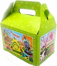 Fimbles Themed 6 Party Lunch Boxes Food Meal Loot Bag Fun Birthday Gift Kids
