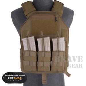 Emerson LBX-4020 Tactical Vest MOLLE Combat Plate Carrier W/ Magazine Pouches