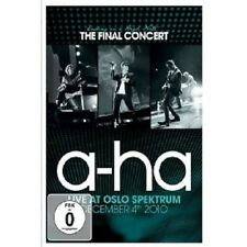 """A-HA """"ENDING ON A HIGH NOTE THE FINAL..."""" BLU RAY NEW+"""