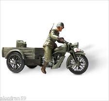 LEAD SOLDIERS MOTORCYCLE Guzzi tricycle, Spain 1937 SMI018