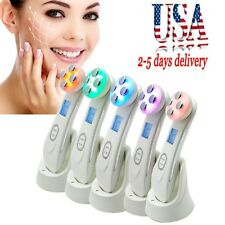 �Usa】Mesotherapy Rf Radio Frequency Led Photon Facial Skin Care Beauty Tool