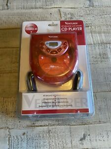 Brand New Venturer 40 Second Anti-Shock CD Player W/ Headphones Model DM8803-40