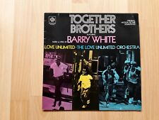 Barry White, Love Unlimited – Together Brothers lp