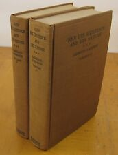 God His Existence and His Nature 1934 R Garrigou-Lagrange 2 Vol Set Vtg Catholic