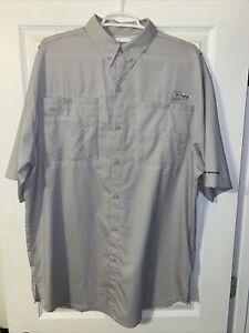 Columbia PFG OMNI-SHADE shirt, Mens Size LT Large-Tall