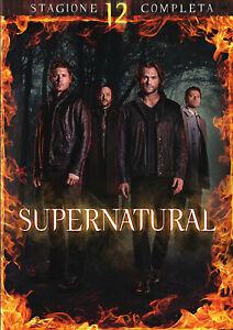 Supernatural - Stagione 12 Completa In Italiano (8 DVD)