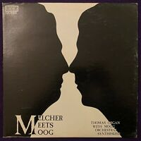 BYRON MELCHER Meets Moog LP CONCERT RECORDING Thomas Organ RARE Record EX