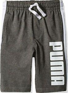 PUMA Big Boys Cotton Shorts Shorts(Youth Ages 7-17 years)