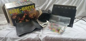 Hasbro 1973 Lite Brite 5455 -  New & Used Sheets - Tested & Works Vintage