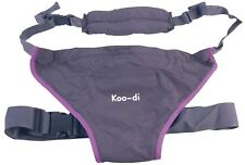 Koo-di PACK-IT HIP CARRIER BLACK Baby/Child Travel Accessory Grey BN