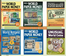 KRAUSE Standard Catalogs of Paper money 6 Pcs Collection Price Is For all