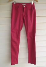 Witchery Women's Pink 'Mid Rise Skinny Leg' Jeans - Size 6