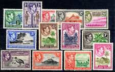 Solomon Islands full set mmint  KGVI 1939-51 Cat £94[S907]