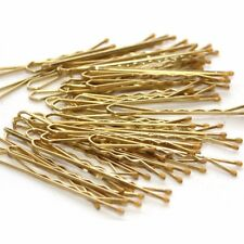 5cm Medium Natural Colour Hair Grips Blonde Slides Clips Bobby Granny Kirby Pins 48 Grips