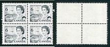 MNH Canada 6 Cent HB Centennial Block of 4 #460ii (Lot #8800)