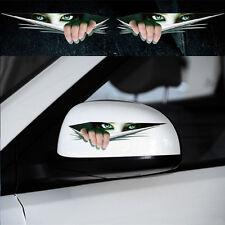 Universal 3D Peeking Eyes Funny Car Van Bumper Window Vinyl Sticker Decal CA