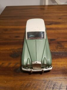 Vintage 1950s Bandai Japan Tin Litho Friction Car Rolls Royce Silver Cloud Sedan