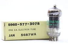 JAN 5687WA TUBE. GENERAL ELECTRIC BRAND TUBE 1960´S CRYOTREATED. CH17V28F280815.