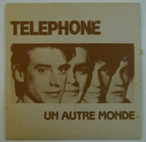 TELEPHONE (Aubert Bertignac) : UN AUTRE MONDE ♦ RARE 45 TOURS ♦