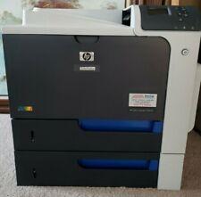 HP LaserJet CP4025DN Business Laser Color Printer With 4 New Original Cartridges