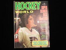 December 1973 Hockey World Magazine - Rick MacLeish Cover
