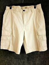 NEW Redhead Mens Cargo Shorts Size 36 Beige Cotton Blend Hiking