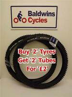 "26"" X 2.35 SCHWALBE SPACE Puncture Protection KNOBLY Bike / Cycle Tyre"