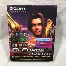 Gigabyte Technology GeForce 7600 GT PCI Express Model GV NX76T256D RH Pre Owned