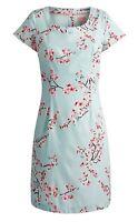 Joules Elise Dress, Opal Blue Blossom Size 12 RRP £64.95