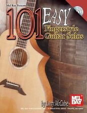 Mel Bay's 101 Easy Fingerstyle Guitar Solos, Larry McCabe, Good Book