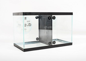 Fin Friends 29 or 55 Gallon Aquarium Fish Tank Divider with Suction Cups