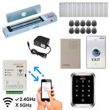 Zemgo Smart WiFi Door Access Control System with App + Maglock + Keypad/Reader