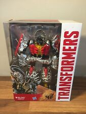 Transformers Age of Extinction Generations Voyager Dinobot G1 Slog Figure RARE