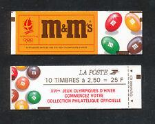 FRANCE - Carnet # 2715-C7  / Marianne de Briat / 2f.50 rouge D. M&M's - 1991