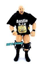STONE COLD STEVE AUSTIN - WWE Jakks Classic Superstar Elite Wrestling FIGURE_s78
