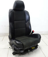 BMW 5 SERIES E60 E61 SPORT SEAT RIGHT HEATED SEATS Partially Leather Flashlight