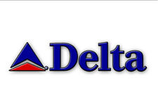 "Delta AirLines (early 2000)Logo Fridge Magnet 3.25""x2.25"" Collectibles (LM14158)"