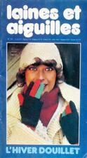 Revue de mode Catalogue de tricot - Laines et Aiguilles n°187 - Année 70 - Hiver