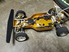 Vintage RC10 Team Associated Gold Pan Buggy With 2 Bodies
