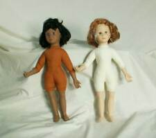 Avon 2 Girl Scout Dolls Vinyl Cloth Body (without clothing) 14 in. bfe1647