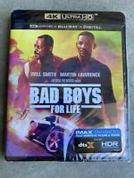 BAD BOYS FOR LIFE(4K ULTRA HD+BLU-RAY+DIGITAL) NEW FAST SHIPPING