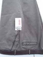 Pantaloni da uomo alto grigio classico