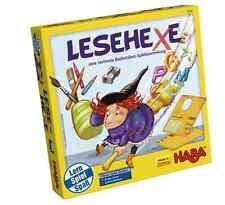 HABA Lernspiel Lesehexe Buchstaben-Spielesammlung 7144 - ab 5 Jahre neu