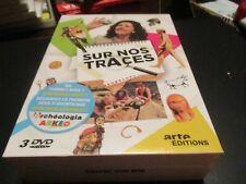"""COFFRET 3 DVD NEUF """"SUR NOS TRACES"""" serie documentaire Arte"""