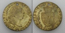 Collectable 1877 Miss E Thompson Four Pictures Token - New Bond Street - Holed