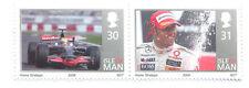 Lewis Hamilton-F1 Motoracing-grand Prix mnh pair(isle of Man)